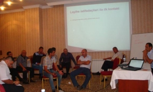 """Trainings within the framework of """"Support to the Institutional Development of Harm Reduction Network"""""""